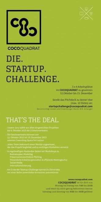 Startup Challenge Herbst 2015