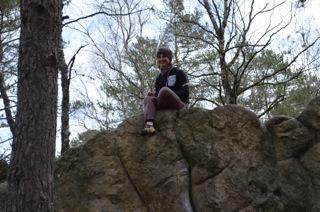 Sarah Bouldern 4