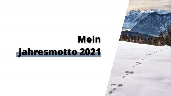 Jahresmotto 2021